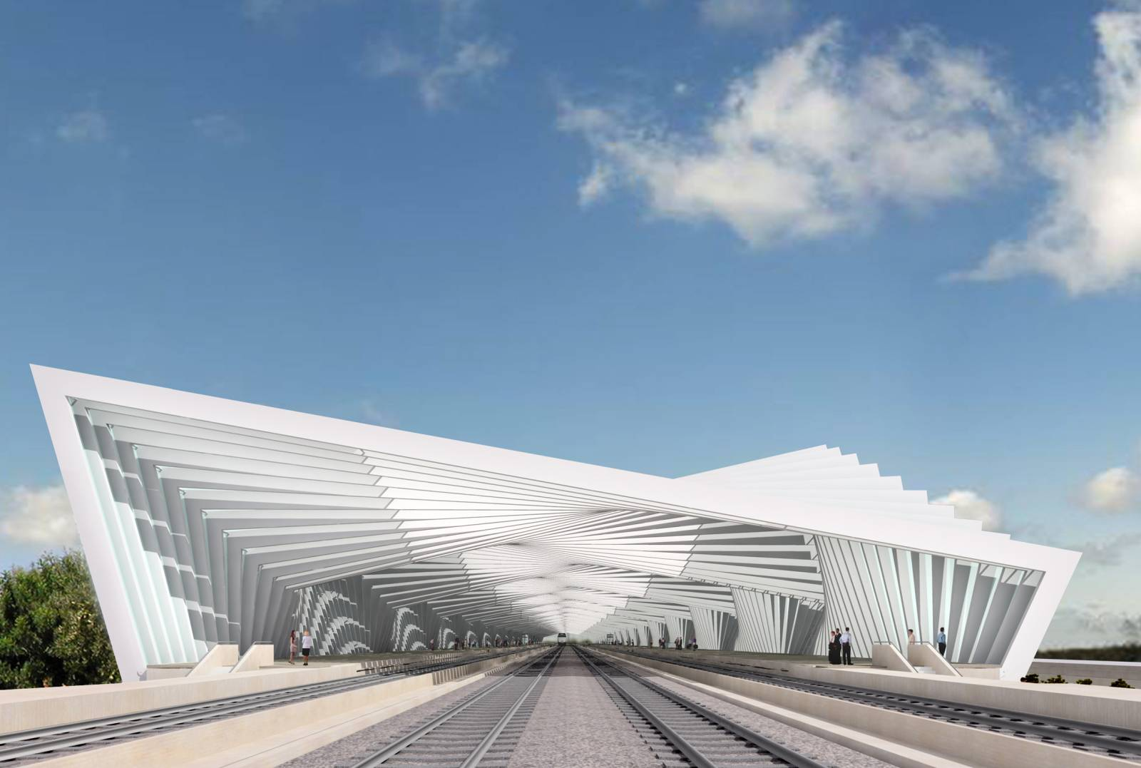 Wearena reggio emilia high speed train station av for Mobili reggio emilia